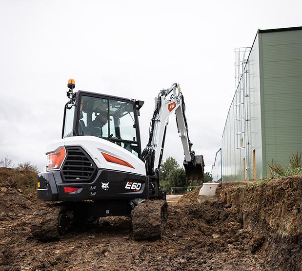 Bobcat velicidades de desplazamiento de excavadora