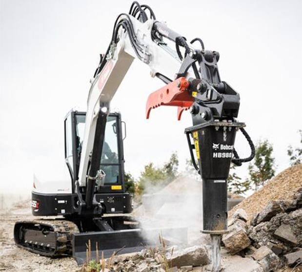 Excavadoras Bobcat bloqueo de direccion doble