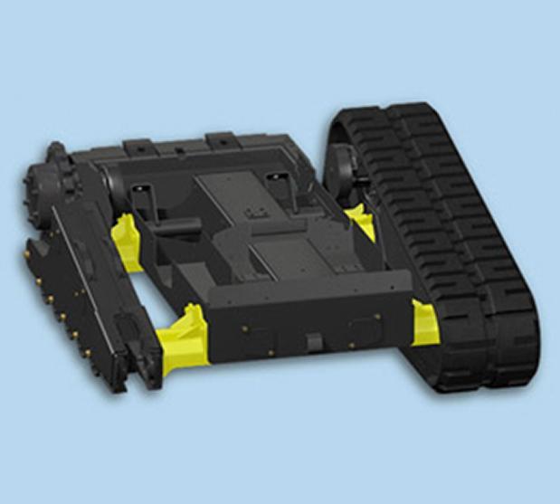 Sistemas de orugas de larga duracion de cargadoras Bobcat