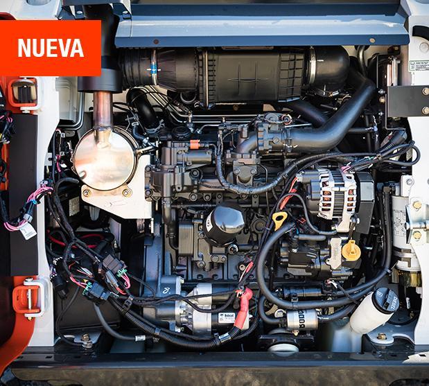 Motores stage V bobcat