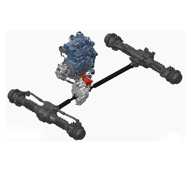 transmision de telescopico bobcat