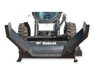 Aditamento Bobcat para mantenimiento de asfalto