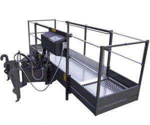Plataforma del operador rotativa expansible Bobcat