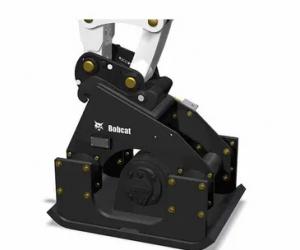 compactador de placa Bobcat